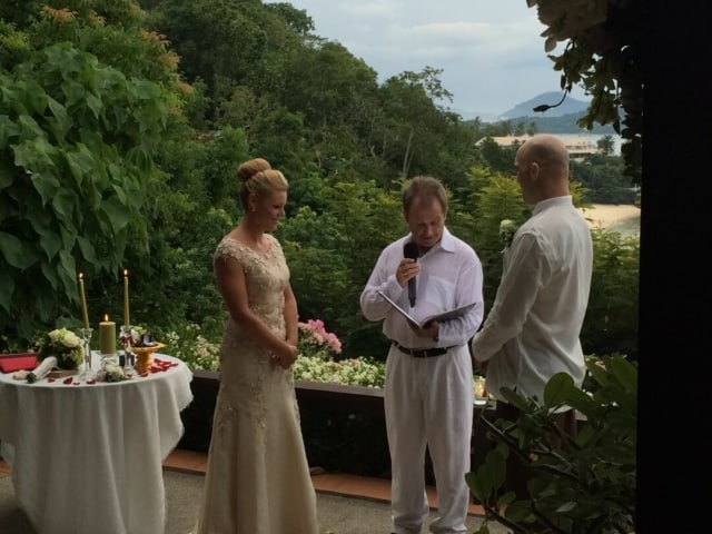 Wedding Celebrant Paul Cunliffe