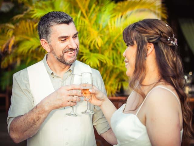 Villa Wedding Phuket Champagne Toast