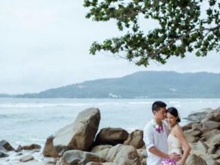 Bride and Groom Phuket Beach