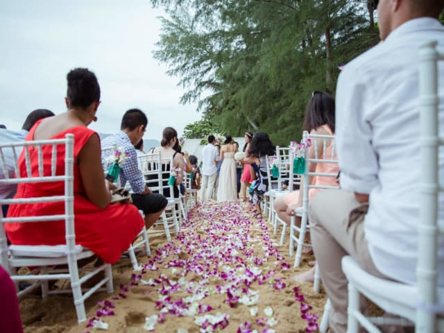 Wedding Aisle Phuket Thailand