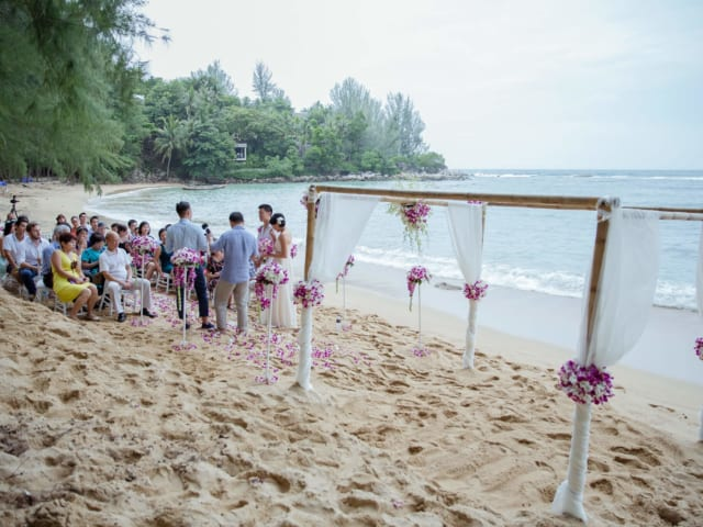 Beach Wedding Planners Phuket Thailand