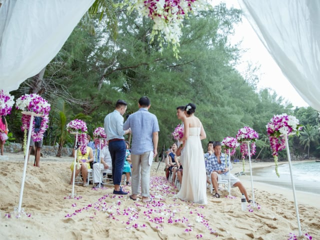 Beach Wedding Phuket Thailand