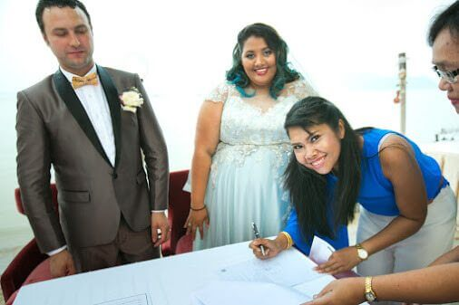 Phuket Beach Club Wedding - Wedding Organizers Phuket Thailand