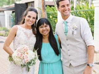 Bride Groom and Wedding Planner