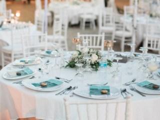 Villa Reception Table Wedding Phuket Thailand