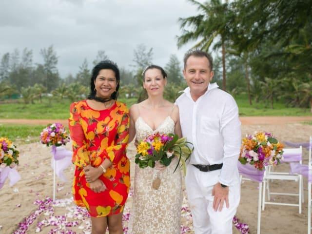 Wedding Planners Beach Vow Renewal Phuket Thailand