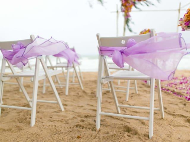 Beach Wedding Chairs Phuket Thailand