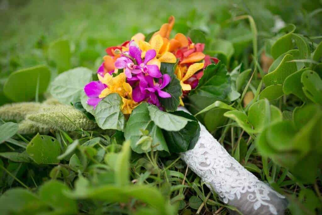 Beach Wedding Bouquet Phuket Thailand