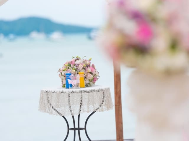 Wedding Unity Sand Ceremony Phuket Thailand