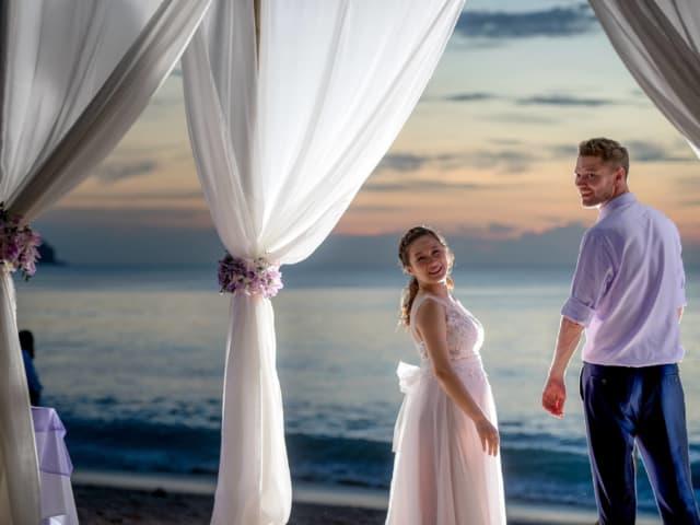 Beach Wedding in Phuket Thailand Wedding