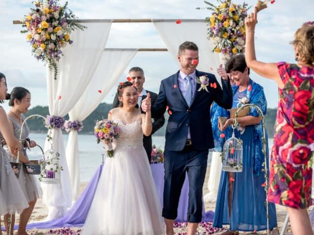 Wedding Planners Phuket Thailand Beach Wedding