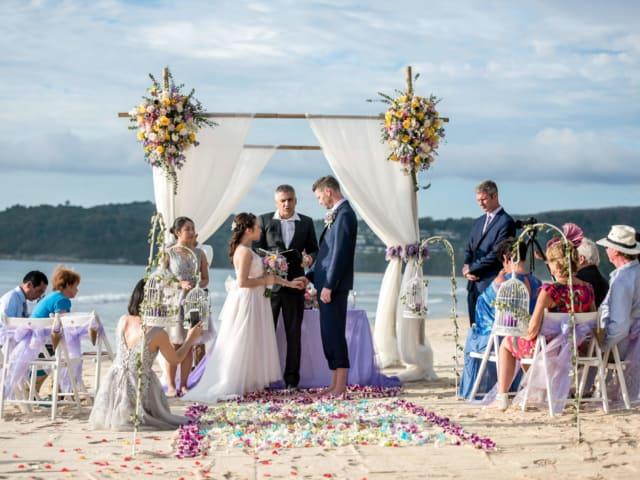 Beach Wedding in Phuket Thailand