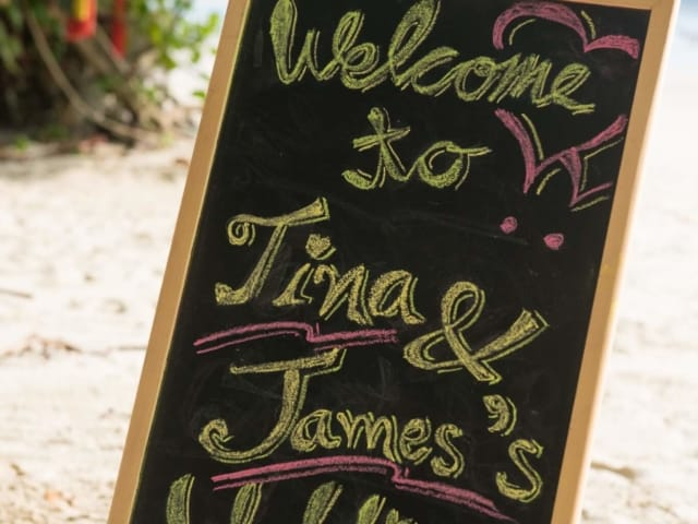 Phuket Beach Destination Wedding James and Tina -Unique Phuket Wedding Planners