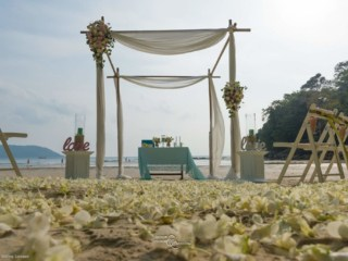 Beach Wedding Kata Beach Phuket Thailand Unique Phuket Wedding Planners124
