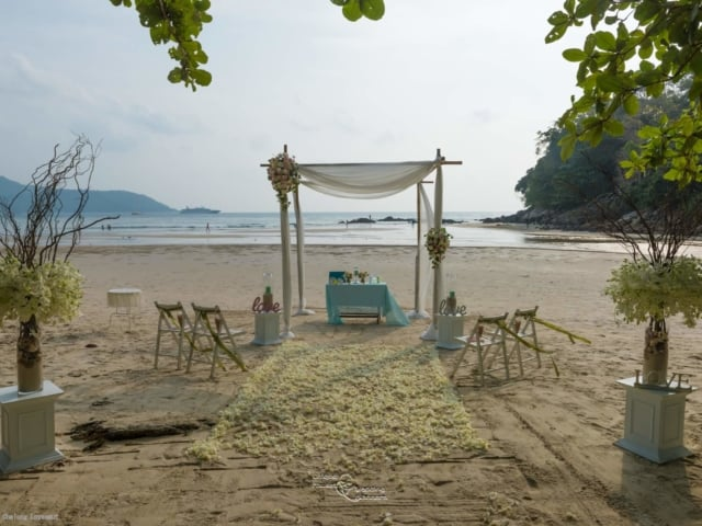 Beach Wedding Kata Beach Phuket Thailand Unique Phuket Wedding Planners135