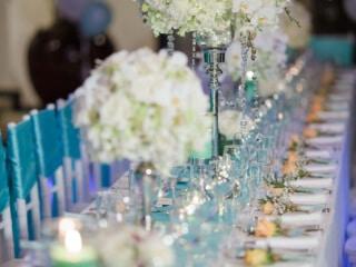Unique Phuket Wedding Reception Table Dressing