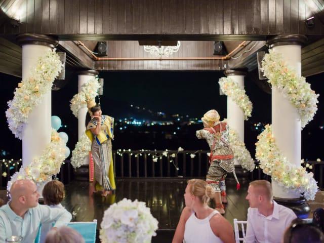 Unique Phuket Wedding Planners - Toom Thai Dancing