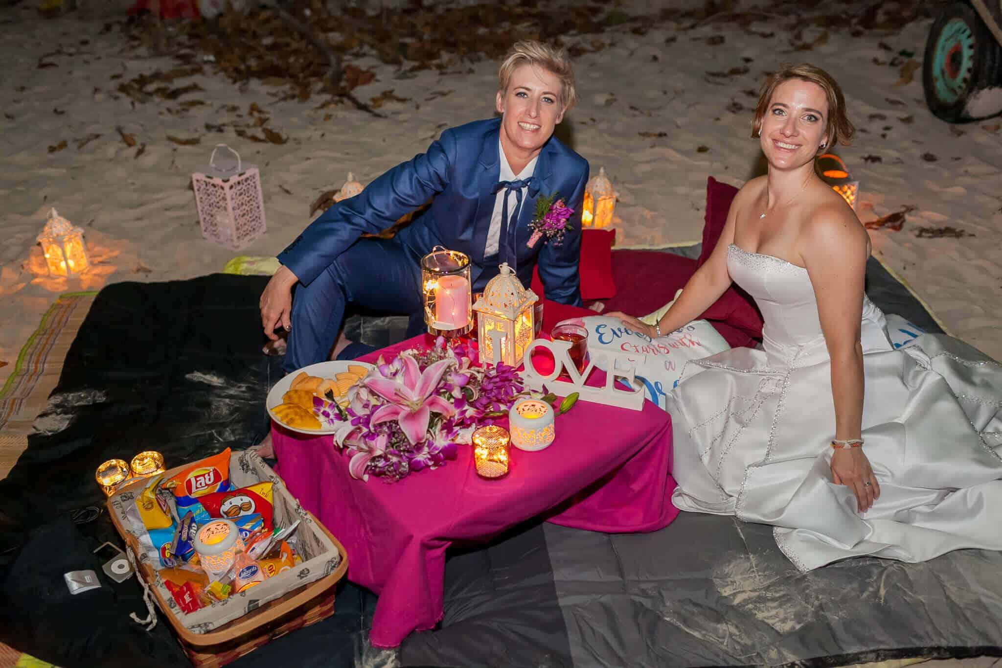 Phuket Beach Marriage Laura & Marie (11)