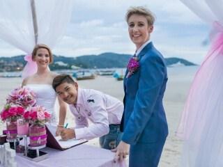 Phuket Beach Marriage Laura & Marie (17)