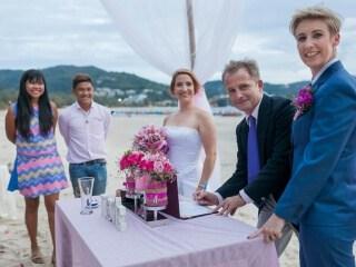 Phuket Beach Marriage Laura & Marie (18)