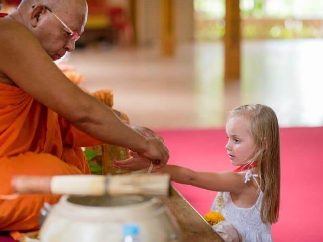 Thai Monks Blessing (10)