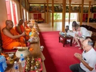 Thai Monks Blessing (8)
