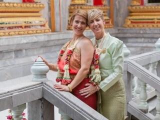 Thai Monks Wedding Blessing (1)