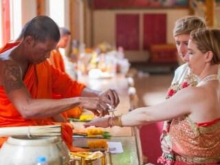 Thai Monks Wedding Blessing (10)