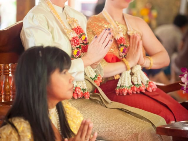 Supparin - Thai Monks Wedding Blessing (5)