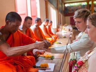 Thai Monks Wedding Blessing (9)