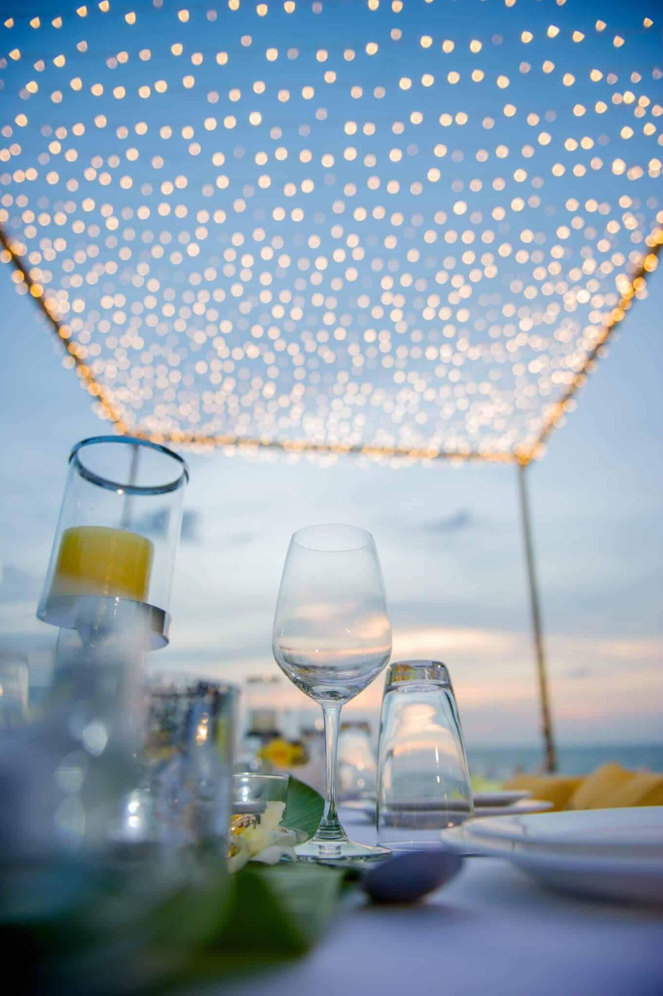 Phuket Beach Wedding Beach Reception 27