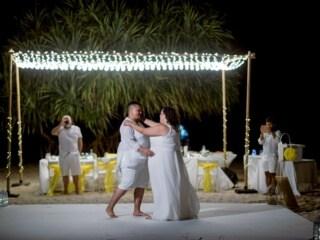 Phuket Beach Wedding Beach Reception 34