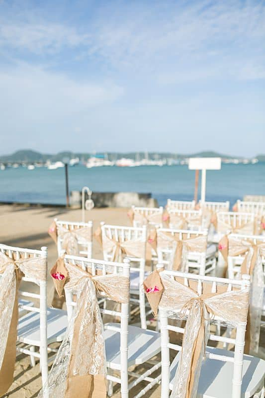 Beach Club Wedding F And M 10