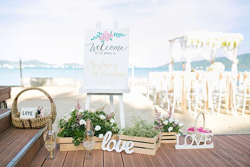Beach Club Wedding F And M 15