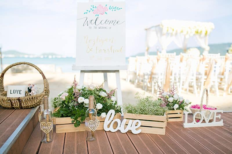 Beach Club Wedding F And M 16
