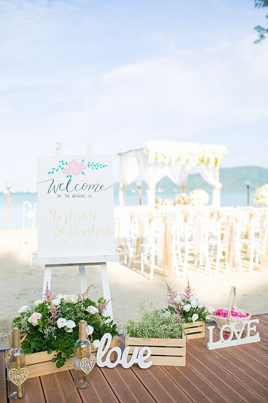 Beach Club Wedding F And M 17