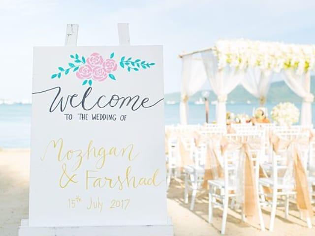 Beach Club Wedding F And M 18