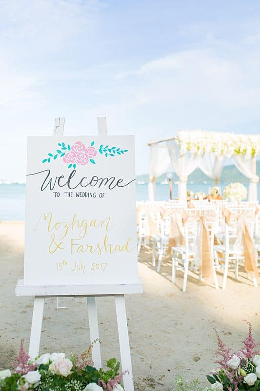 Beach Club Wedding F And M 18