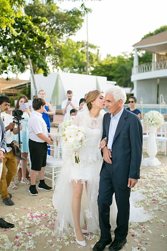 Beach Club Wedding F And M 34