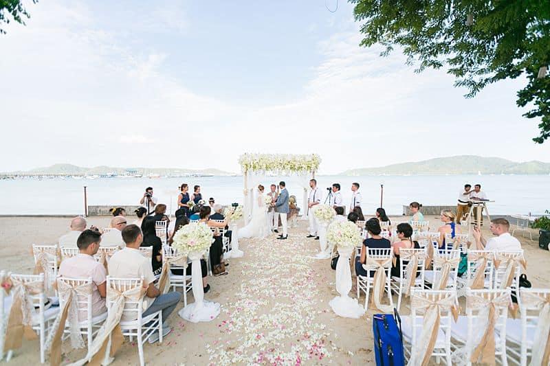 Beach Club Wedding F And M 39