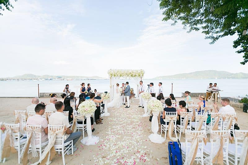 Beach Club Wedding F And M 39