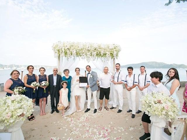 Beach Club Wedding F And M 44