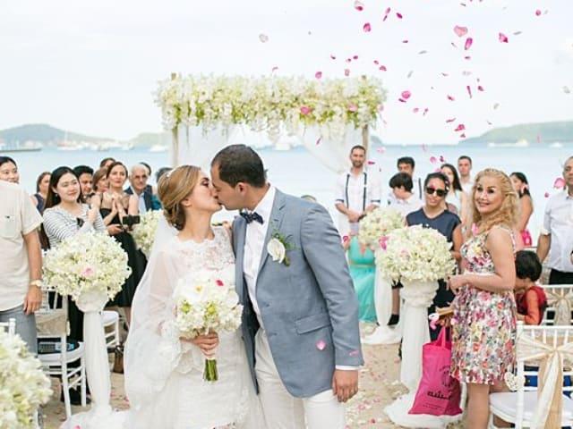 Beach Club Wedding F And M 46