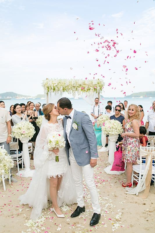 Beach Club Wedding F And M 46