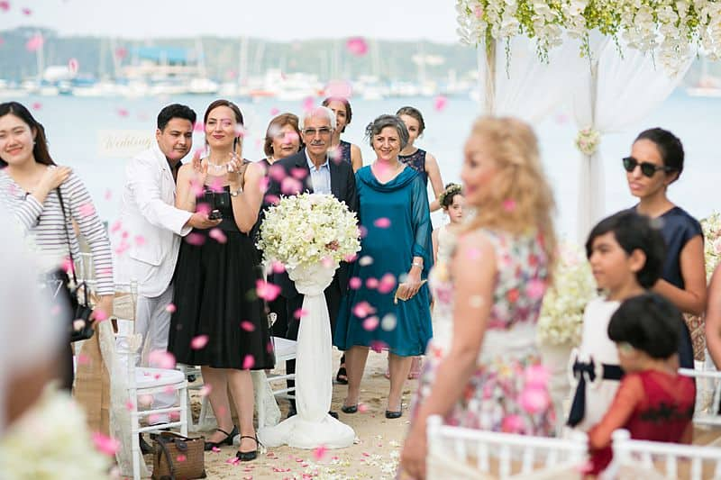 Beach Club Wedding F And M 47