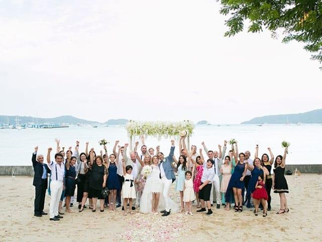 Beach Club Wedding F And M 48