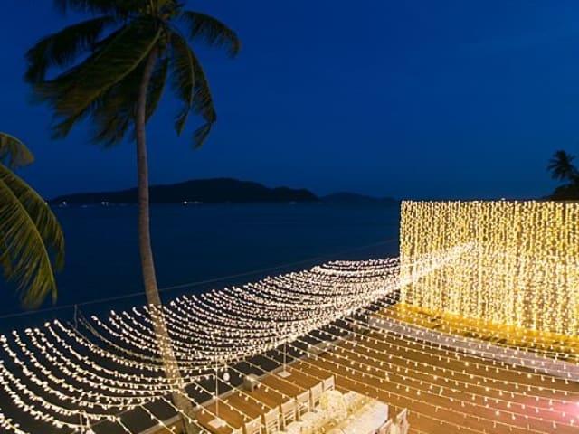 Beach Club Wedding F And M 75