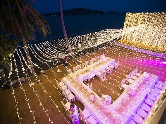Beach Club Wedding F And M 77