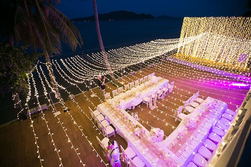 Beach Club Wedding F And M 77