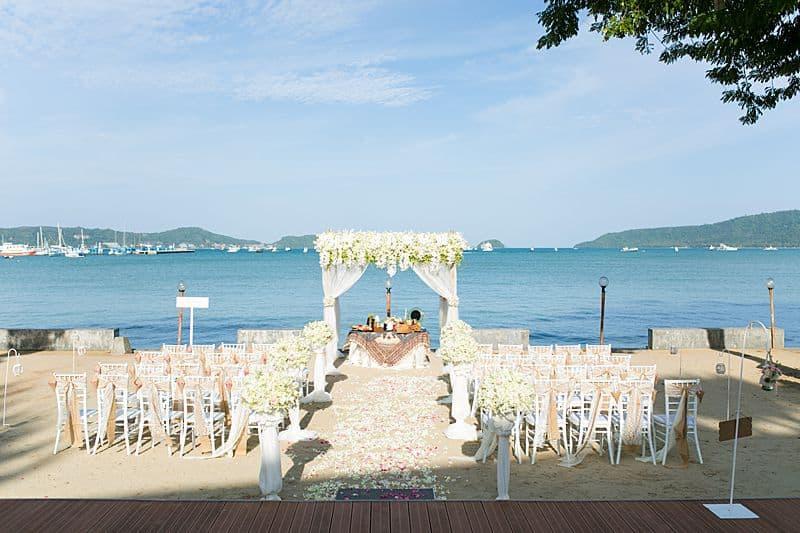 Beach Club Wedding F And M 8